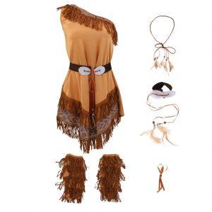 Disfraces de indios nativos americanos