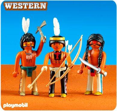 Juguetes de indios nativos americanos