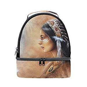Bolsos y mochilas de indios nativos americanos