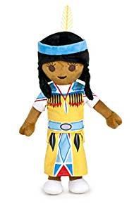 Peluches de indios nativos americanos