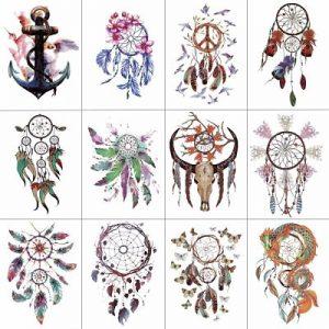 tatuajes de atrapasuenos indios