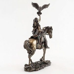 figuras, estatuas y estatuillas de indios nativos americanos