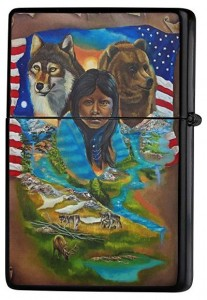 mecheros indios americanos