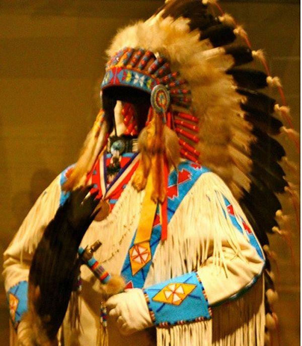 Ropa que usaban los indios Cherokee