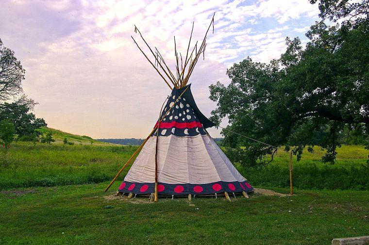 Vivienda de los Sioux