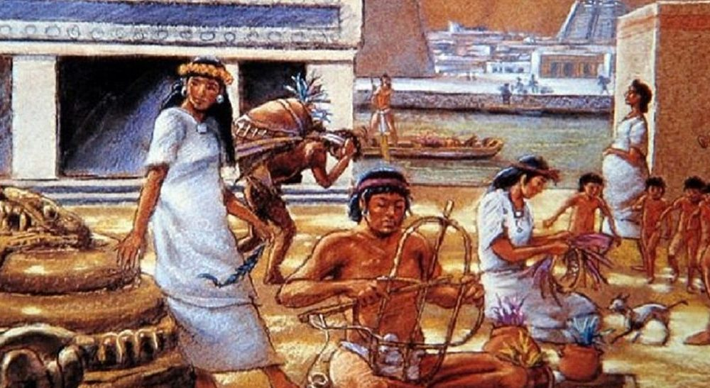 Indios Aztecas