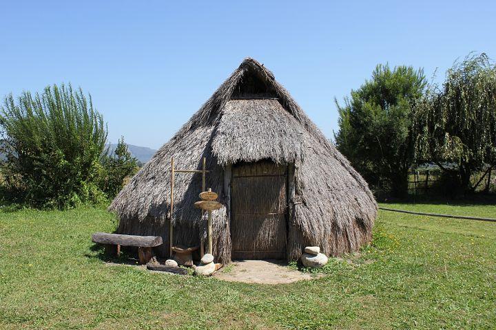 Vivienda de los mapuches